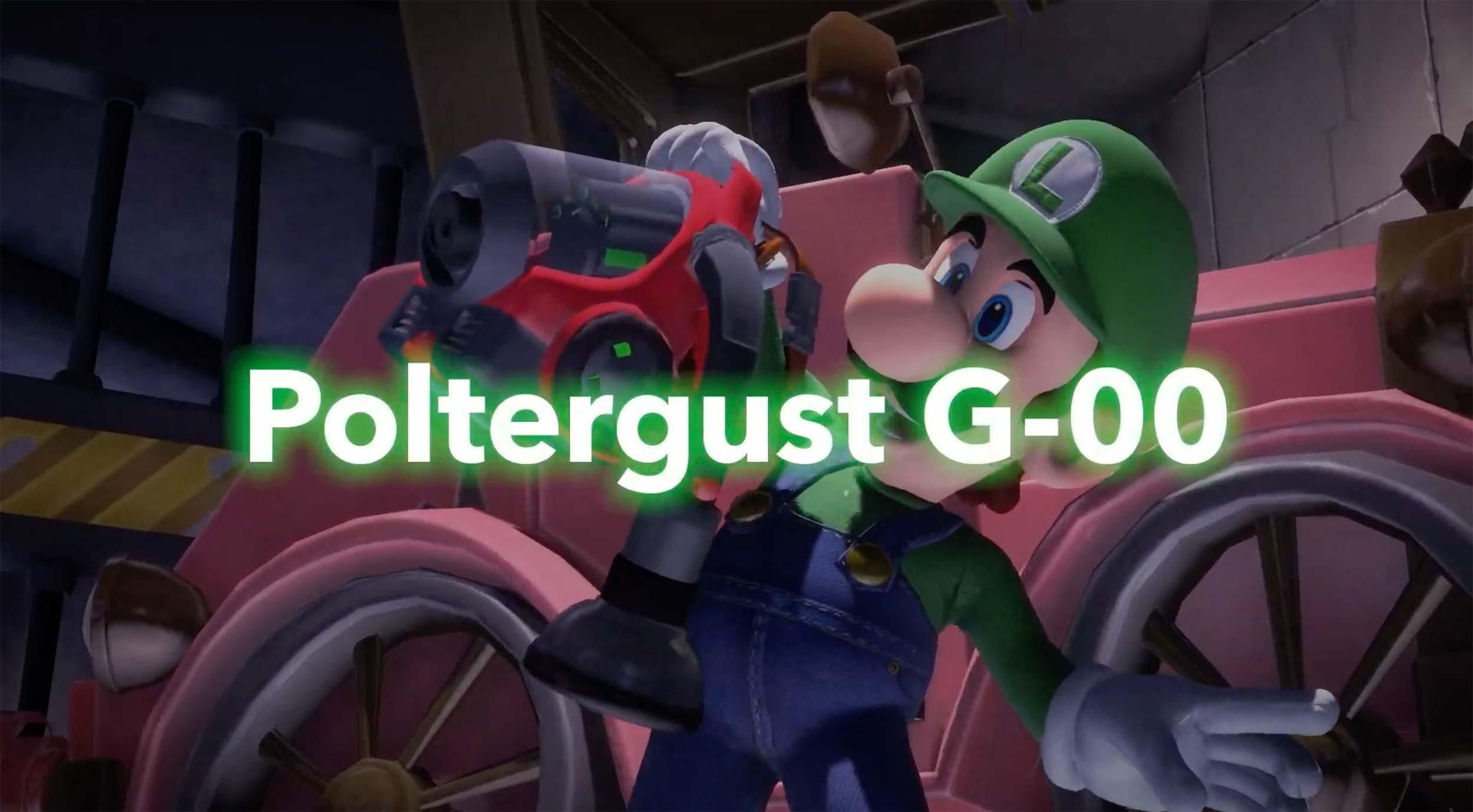 Luigi's Dream Vacation, Gooigi and more available in Luigi